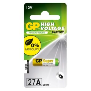GP Battery GP 27A C1 MN27 SPEC.