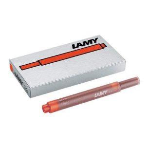 Lamy CF5 T10 CARTUCCIA INCHIOSTRO ROSSO