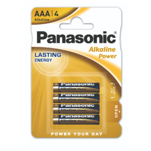Panasonic BLISTER 4 MINISTILO ALKALINE POWER