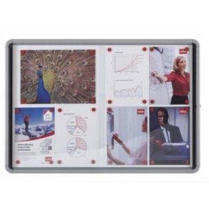 NOBO – BACHECA PACIFIC AD ANTE SCORREVOLI 12xA4 – 97×5,4×100 cm