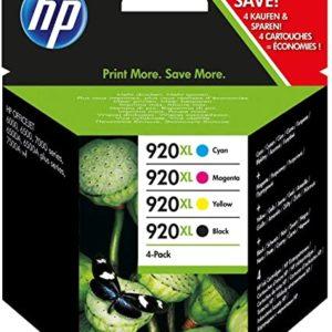 HP 920XL C2N92AE Combo Pack Confezione da 4 Cartucce XL