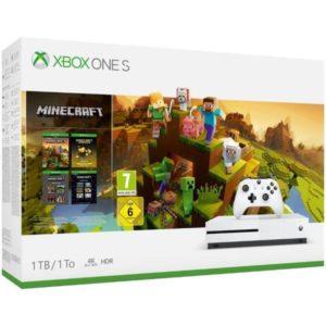 Xbox One S 1TB + MINECRAFT CREATORS