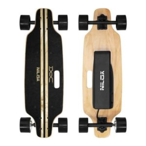 Electric SkateBoard – DOC SKATEBOARD BLACK NILOX
