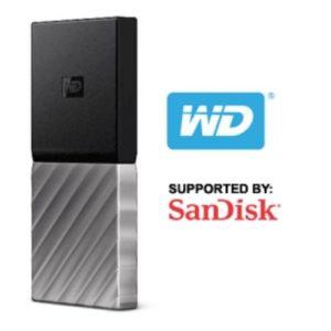Sandisk MY PASSPORT SSD 256GB